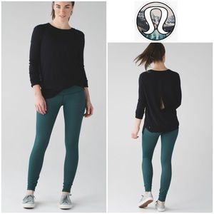 Lululemon Wunder Under Pant III in Deep Green